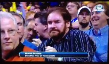 Watch Wade Boggs Dance at the Thunder-Spurs Game (Video)