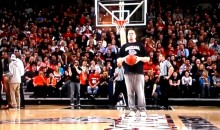 Gonzaga Fan Gives Us the Worst Half-Court Shot in Human History (Video)