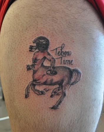 1 tebow broncos centaur tattoo 2