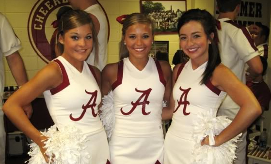 11 alabama crimson tide fan cheerleaders 3