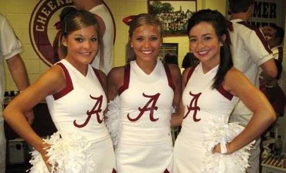 11 alabama crimson tide fan cheerleaders 3