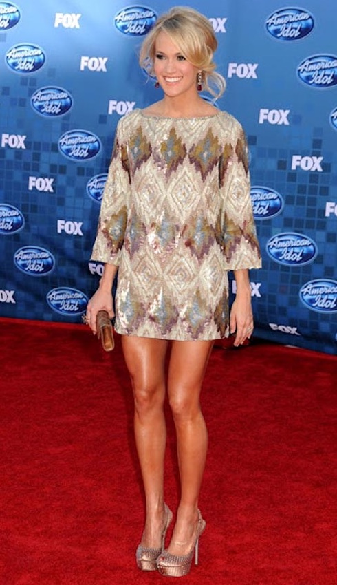 11 carrie underwood (mike fisher) - hottest nhl celebrity wags of all time