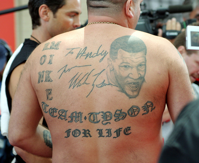 14 mike tyson autograph tattoo