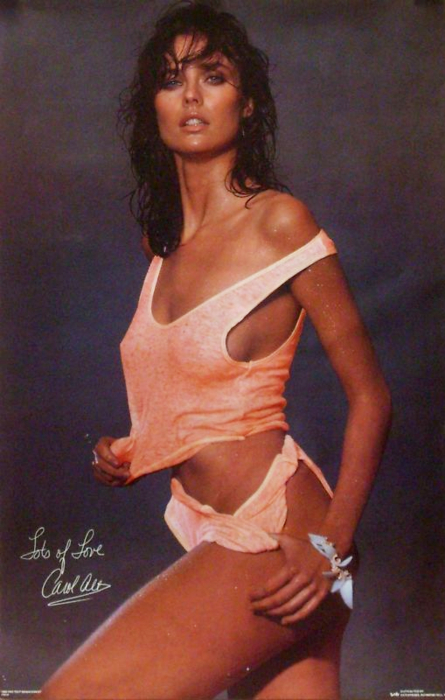 17 carol alt poster (ron greschner and alexei yashin) - hottest nhl celebrity wags of all time