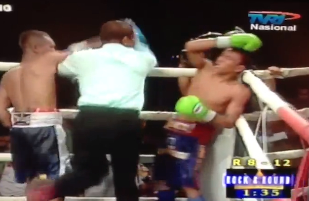 17 year old boxer dies in ring (tubagus sakti) in indonesia