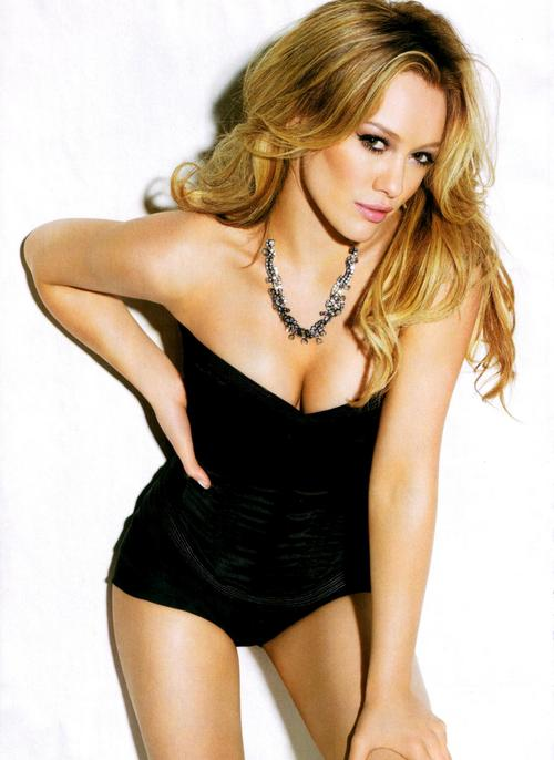 19 hilary duff (mike comrie) - hottest nhl celebrity wags of all time