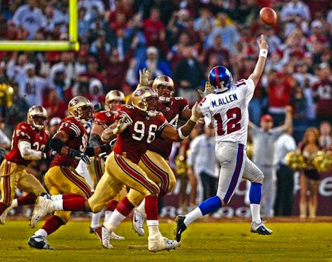 2 2002 playoffs choke giants trey allen bad snap