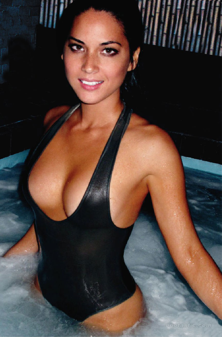 2 olivia munn (brad richards) - hottest nhl celebrity wags of all time