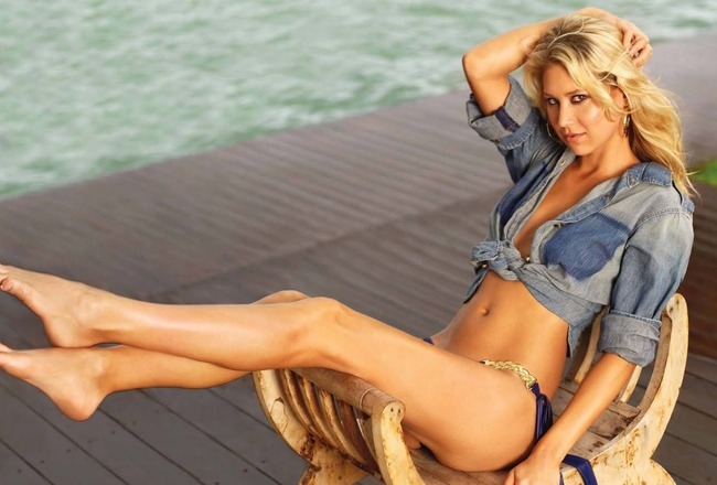 20 anna kournikova (sergei federov) - hottest nhl celebrity wags of all time