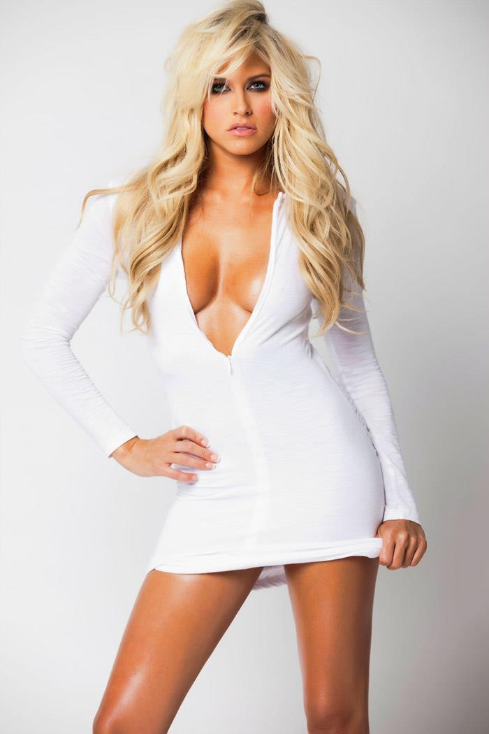 3 kelly kelly aka barbie blank (sheldon souray) - hottest nhl celebrity wags of all time