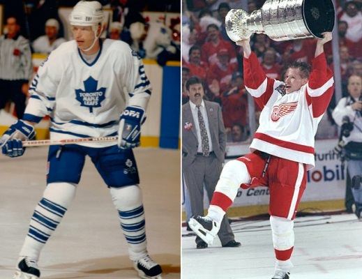 3 larry murphy leafs red wings stanely cup