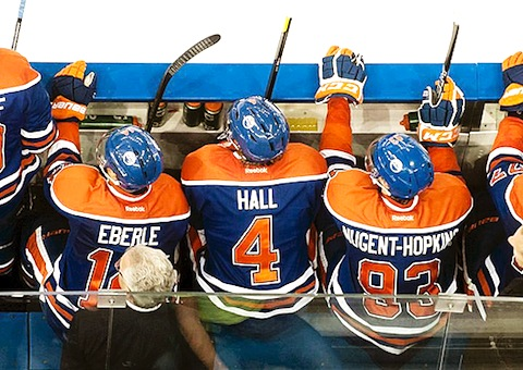 4 oilers youth eberle hall hopkins