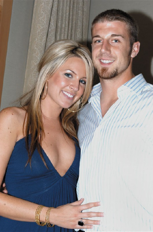7 elizabeth barry smith (alex smith) - super bowl xlvii wags