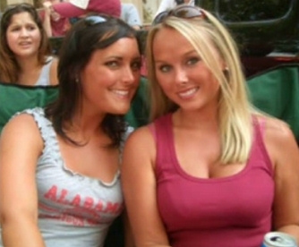 7 hot blonde alabama crimson tide fan