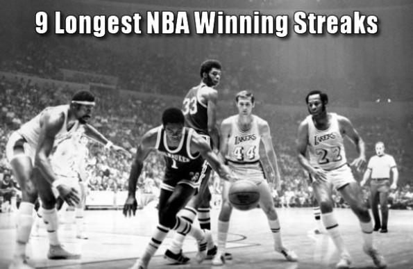 9 Longest NBA Winning Streaks