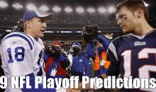 9 NFL Playoff Predictions