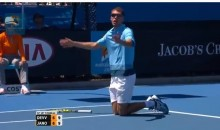 Jerzy Janowicz Has Epic Meltdown at Australian Open (Video)