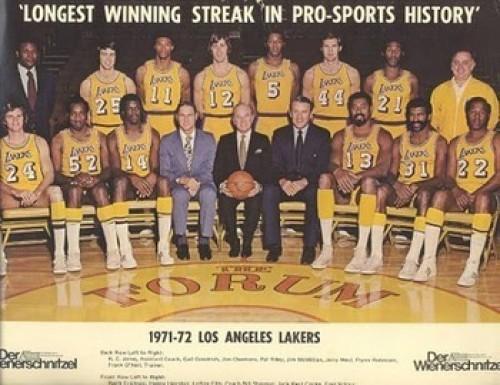 Los Angeles Lakers (1971-1972) - 33 Games