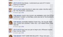 NFL Quarterbacks Conversation On Facebook (Championship Weekend)