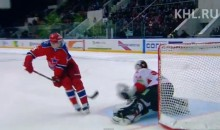 Pavel Datsyuk Bids Farewell to KHL with Incredible Behind-The-Back Shootout Goal (Video)