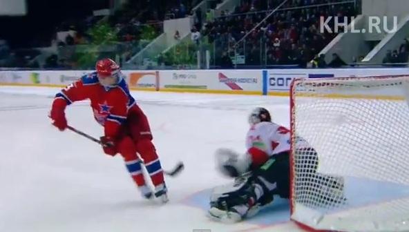 Pavel Datsyuk behind the back shootout goal