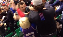 Female Fans Slap, Pour Beer On Each Other During Jazz-Clippers Game (Video)