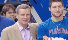 Tim Tebow And ESPN's Tom Rinaldi Bro It Out At Allstate Sugar Bowl (Video)