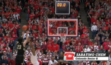 Was Colorado's Sabatino Chen Robbed Of A Game-Winning Three Against Arizona? (Video)