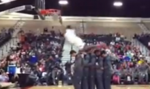 Jamall Gregory Jumps Over Five Teammates In Beach Ball Classic Dunk Contest (Video)