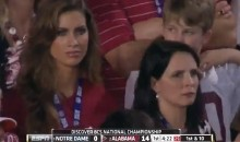 Brent Musburger Is Hot for A.J. McCarron's Girlfriend (Video)