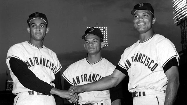alou brothers (felipe alou, matty alou, jesus alou) - baseball brothers same team