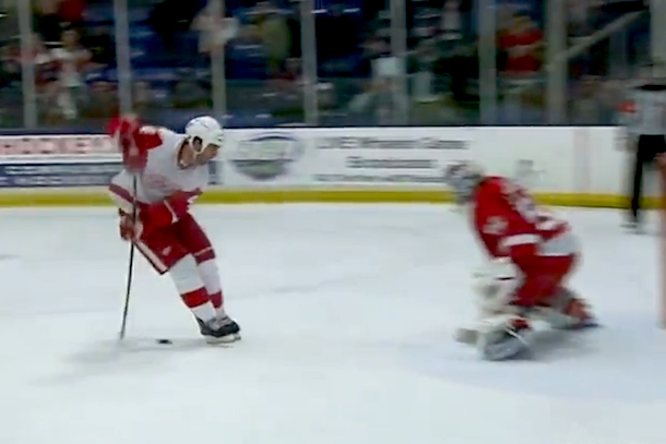 bertuzzi amazing shootout goal between the legs
