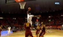 Brandon Paul of Illinois Posterized Trevor Mbakwe of Minnesota (Video)