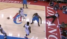 Referee Takes a Caron Butler Block to the Face (Video)