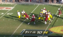 South Carolina's Jadeveon Clowney Destroys Michigan's Vincent Smith (Video)