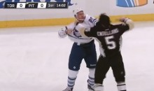 Last Night We Saw Another Epic Hockey Fight Between Colton Orr and Deryk Engelland (Video)