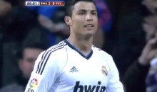 Jose Mourinho In Disbelief After Rare Choke by Cristiano Ronaldo Against Valencia (Video)
