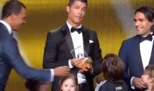 Cristiano Ronaldo Responds To Child's Question With Douchebag Answer (Video)