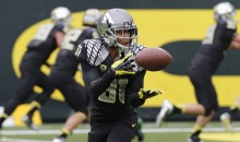 Oregon WR Dane Ebanez Got to Play in the Fiesta Bowl Because His Teammate Faked an Injury
