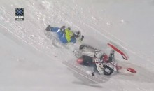 Daniel Bodin, Caleb and Colten Moore All Suffer Nasty Snowmobile Crashes at X-Games Aspen (Videos)