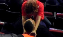 Drunk Bulls Fan Performs Lap Dance on Boyfriend During the Game (Video)