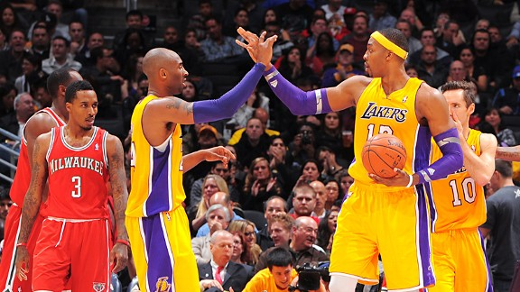 dwight howard kobe bryant