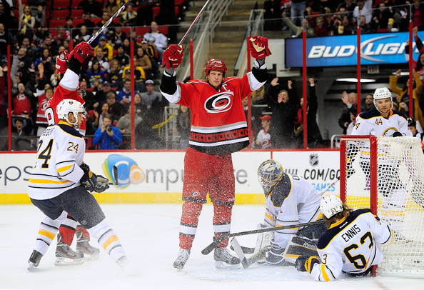 eric staal vs sabres