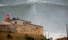 Surfer Garrett McNamara Rides Record-Breaking 100-Foot Wave (Video)