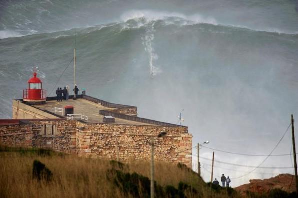 garrett mcnamara record 100 foot wave surfer