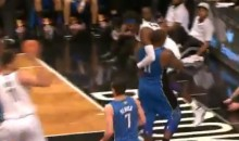 "Glen ""Big Baby"" Davis Catches Gerald Wallace and Carries Him Like a Baby (Video)"