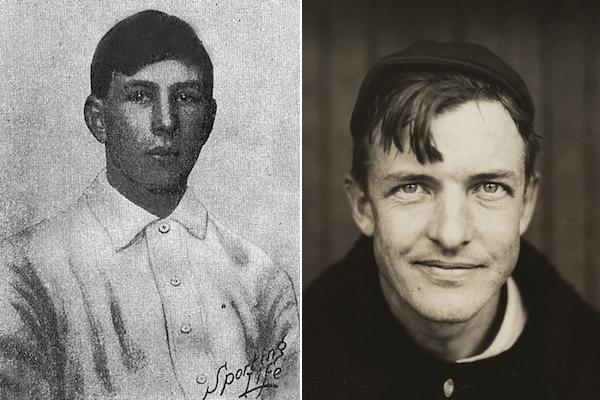 henry mathewson and christy mathewson - baseball brothers same team
