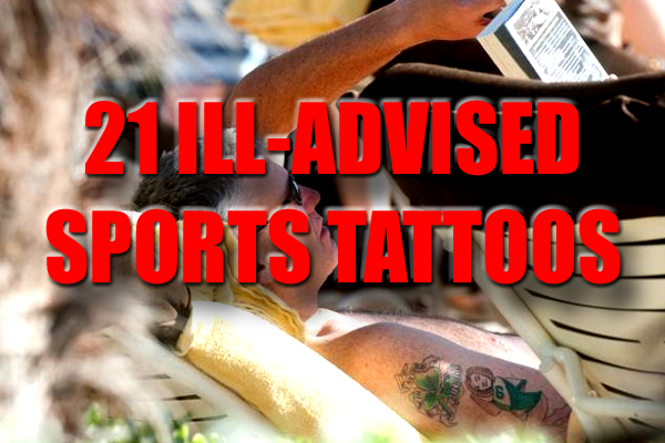 ill-advised sports tattoos