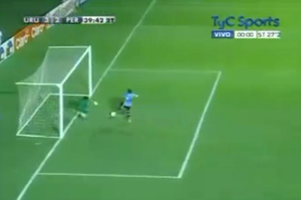 incredible soccer save