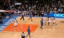Magic's Jameer Nelson Nails a Bounce Shot Against the Knicks (Video)